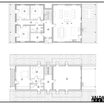 Atestuotas Architektas Vilniuje/Kaune-Gyvenamų n. projektai / Valdas Barvainis / Darbų pavyzdys ID 502837