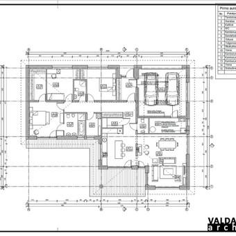 Atestuotas Architektas Vilniuje/Kaune-Gyvenamų n. projektai / Valdas Barvainis / Darbų pavyzdys ID 502859
