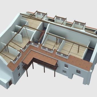 Atestuotas Architektas Vilniuje/Kaune-Gyvenamų n. projektai / Valdas Barvainis / Darbų pavyzdys ID 503047