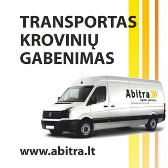 """Krovinių gabenimas Vilniuje ir visoje Lietuvoje / UAB""""Abitra"""" / Darbų pavyzdys ID 503761"""