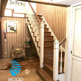 Laiptų gamyba ir projektavimas / UAB Wood Step / Darbų pavyzdys ID 503907