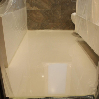 """Pramoninės ir dekoratyvinės liejamos grindys / UAB """"PavaBaltic"""" / Darbų pavyzdys ID 72475"""