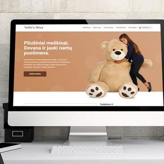 Interneto svetainių bei el. parduotuvių kūrimas / UAB Virtualus / Darbų pavyzdys ID 504431