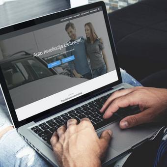 Interneto svetainių bei el. parduotuvių kūrimas / UAB Virtualus / Darbų pavyzdys ID 504449