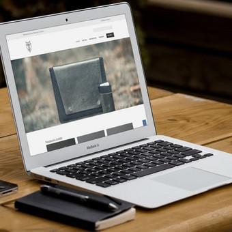 Interneto svetainių bei el. parduotuvių kūrimas / UAB Virtualus / Darbų pavyzdys ID 504453