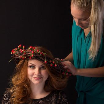 Makeup-hair Karina Mickuvienė Vilnius / Karina Mickuviene / Darbų pavyzdys ID 72509