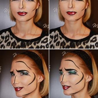 Makeup-hair Karina Mickuvienė Vilnius / Karina Mickuviene / Darbų pavyzdys ID 72515