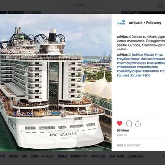 Socialinių tinklų Facebook, Instagram, Linkedin komunikacija / Emanuelis Kamarauskas / Darbų pavyzdys ID 504891