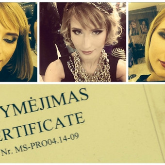Makeup-hair Karina Mickuvienė Vilnius / Karina Mickuviene / Darbų pavyzdys ID 72516