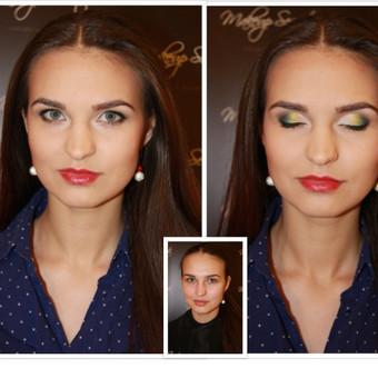 Makeup-hair Karina Mickuvienė Vilnius / Karina Mickuviene / Darbų pavyzdys ID 72512