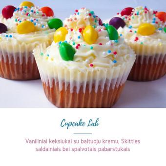 Cupcake Lab - laimės keksiukai / Eglė Jankauskaitė / Darbų pavyzdys ID 505161