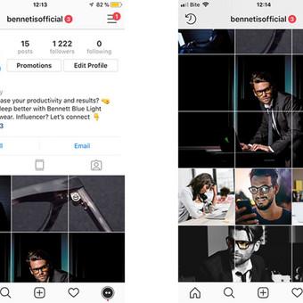 Socialinių tinklų Facebook, Instagram, Linkedin komunikacija / Emanuelis Kamarauskas / Darbų pavyzdys ID 505763