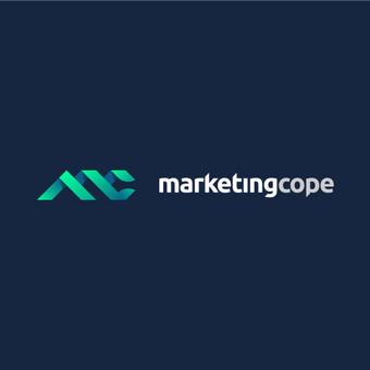 MarketingCope - mes rūpinamės jūsų reputacija internete         logotipas       Logotipų kūrimas - www.glogo.eu - logo creation.