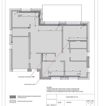Udizainas - interjero dizainas / Ugnė Stasionė / Darbų pavyzdys ID 506383