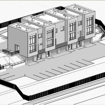 REVIT modeliavimas, planu, fasadų, pjūvių, detalių sukurimas.