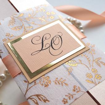Kvietimai vestuvėms / Irma / Darbų pavyzdys ID 506805