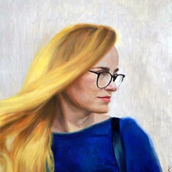 Vestuvių, krikštynų, gimtadienių portretų tapyba / Justinas Krasuckas / Darbų pavyzdys ID 506987