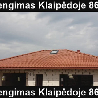 Stogų dengimas, stogdengys Erikas / Erikas / Darbų pavyzdys ID 507025