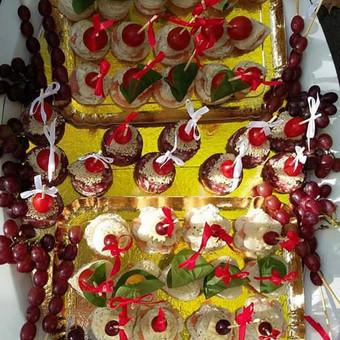 Stilingas šventinis šampano- vaišių staliukas po ceremonijos / Ramunė / Darbų pavyzdys ID 507231