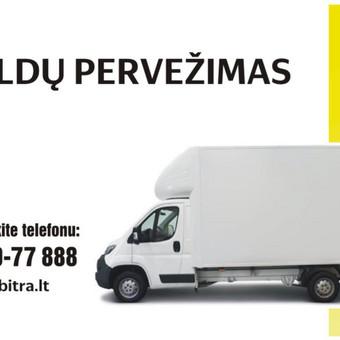 """Krovinių gabenimas Vilniuje ir visoje Lietuvoje / UAB""""Abitra"""" / Darbų pavyzdys ID 507523"""
