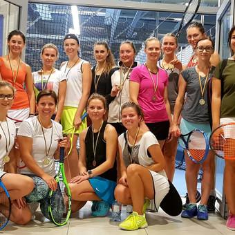Grupinės moterų lauko teniso treniruotės Vilniuje / Juste Kubiliute / Darbų pavyzdys ID 507651
