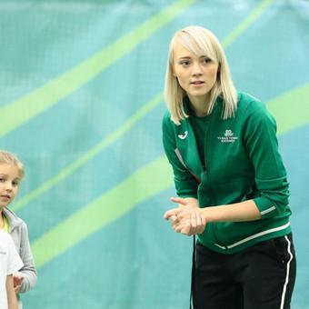 Grupinės moterų lauko teniso treniruotės Vilniuje / Juste Kubiliute / Darbų pavyzdys ID 507657