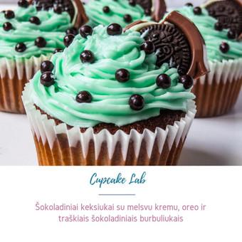 Cupcake Lab - laimės keksiukai / Eglė Jankauskaitė / Darbų pavyzdys ID 507761