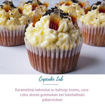 Cupcake Lab - laimės keksiukai / Eglė Jankauskaitė / Darbų pavyzdys ID 507763