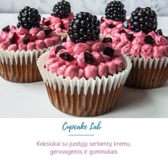Cupcake Lab - laimės keksiukai / Eglė Jankauskaitė / Darbų pavyzdys ID 507765