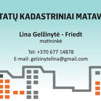 Pastatų kadastriniai matavimai / Lina Gelžinytė - Friedt / Darbų pavyzdys ID 508343