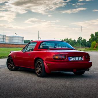 Mazda MX-5 Komercinė Fotosesija