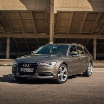Audi A6 Avant Komercinė Fotosesija