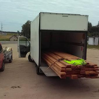 Perkraustymo paslaugos,krovinių pervežimas iki 2t / Vidas / Darbų pavyzdys ID 509781