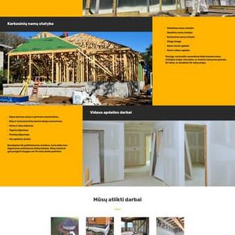 Pastatų apšiltinimo poliputomis įmonės internetinis puslapis. www.sildymosprendimai.lt