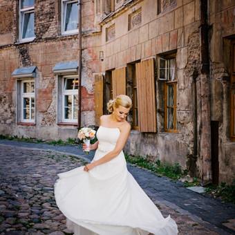 Vestuvinių ir proginių suknelių siuvėja Vilniuje / Oksana Dorofejeva / Darbų pavyzdys ID 72975