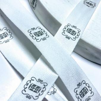 Tekstilinės juostelės su spauda / UAB Asanta Group / Darbų pavyzdys ID 510439
