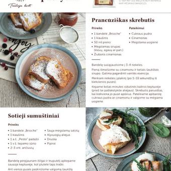 Gastronominio turinio kūrėja / Natalija Kurganovė / Darbų pavyzdys ID 510733