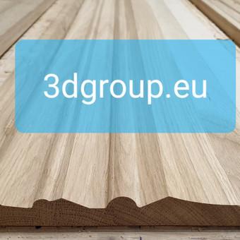 2D, 3D ir 4D frezavimas, 3D skenavimas / 3D Group EU, 3D Wood / Darbų pavyzdys ID 511047