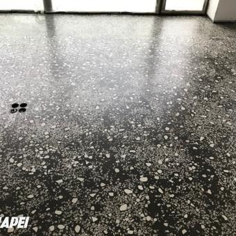 ULTRATOP TERRAZZO grindų sistema, įrengta apartamentuose Vilniuje http://velvemst.lt/uploads/517_ultratop_lt_160318.pdf