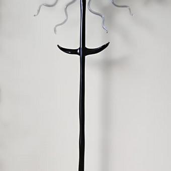 Juodo ir skaidraus stiklo kryžius Dydis 36cm x 13cm