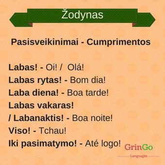 Portugalų kalbos pamokos internetu / GrinGo Languages / Darbų pavyzdys ID 511577