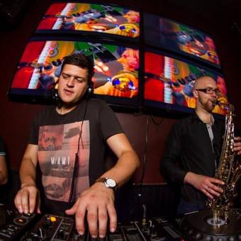 Amigos nightclub feat sax.