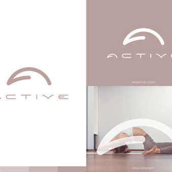 AKTYVI - Kalanetikos/ Jogos/ Baleto/ Kūno dizaino programos internetu.   Logotipų kūrimas - www.glogo.eu - logo creation.