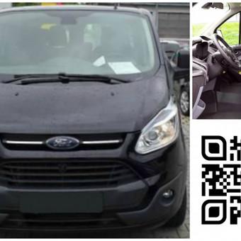 Mikroautobusų Ford Transit 2014, Opel Vivaro 2014, Renault Trafic 2014, Nissan Primastar 2013 nuoma.