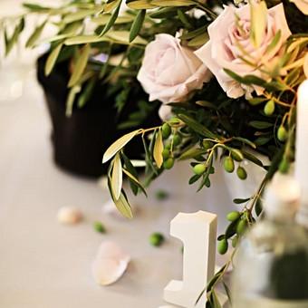 Baltos gervės. Švenčių ir interjero dekoras ir floristika / Baltos gervės / Darbų pavyzdys ID 512143