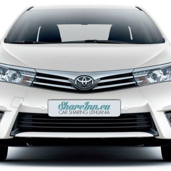 Toyota Corolla, 2015 m., 1.6 VVT-i, Mechaninė 6 laipsnių pavarų dėžė.