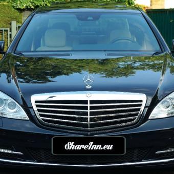 Mercedes- Benz S- class, 2011 m.  >> NUOMOJAMAS TIK SU VAIRUOTOJU > Kaina nuo 45 Eur. /val.
