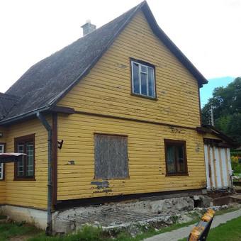 Senu mediniu namu renovacija,rekonstrukcija / Aivaras / Darbų pavyzdys ID 513237