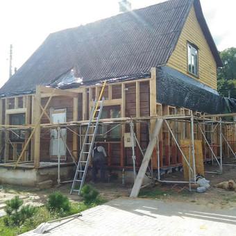 Senu mediniu namu renovacija,rekonstrukcija / Aivaras / Darbų pavyzdys ID 513239