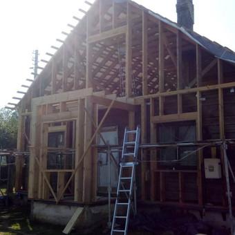 Senu mediniu namu renovacija,rekonstrukcija / Aivaras / Darbų pavyzdys ID 513241